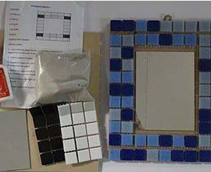 Kit de teselas vitreas para Armar en casa