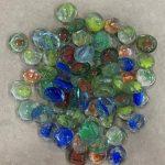 gemas de vidrios