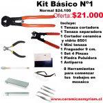 Kit Básico 8 herramientas
