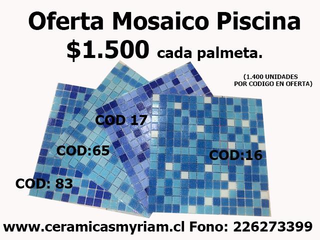 mosaico piscina oferta ceramicas myriam
