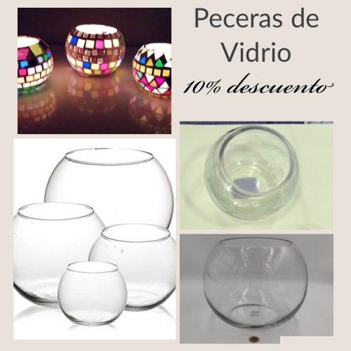 peceras de vidrio